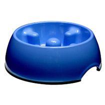 Comedero-Perro-Come-Lento-Dogit®--Mediano-Azul