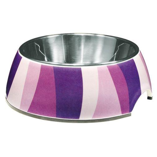 Comedero-Perro-Dogit-Style-Bowl-Zebra-Pattern-Chico--