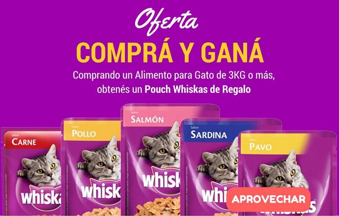 Whiskas Compra Y Gana!