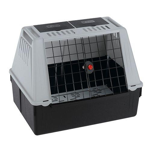 Transportadora-Atlas-Car-Maxi-Gris-Para-Perros-Y-Gatos-Med