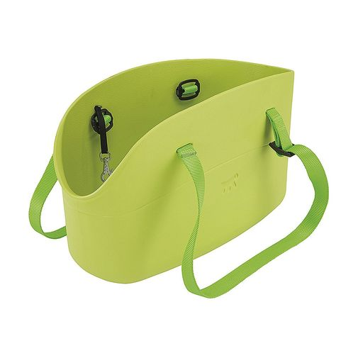 Bolso-Transportador-Whit-Me-Verde-Para-Perros-