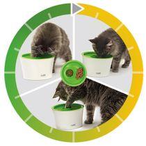 Comedero-Multi-Feeder-Catit-Para-Gatos-Blanco
