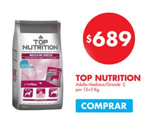 Top Nutrition Medium Breed