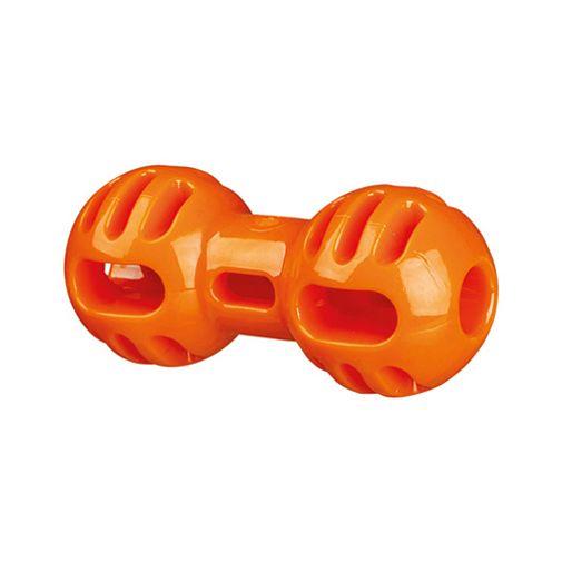Pesa-De-Goma-Soft---Strong-Naranja-Para-Perros
