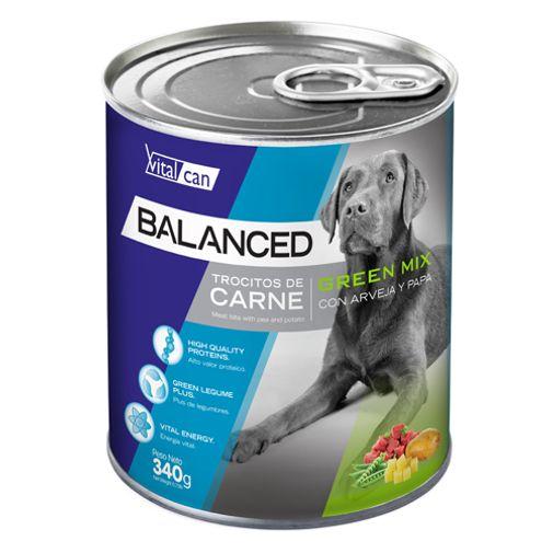 Alimento-Perro-Humedo-Lata-Vitalcan-Balanced-Green-Mix-Suprimir-StockVer-Stock--logistics-
