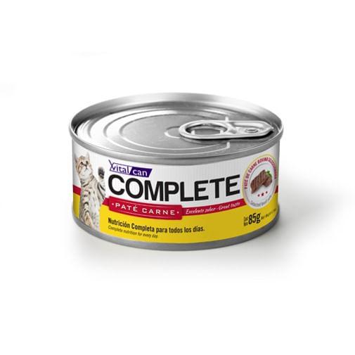 Alimento-De-Gato-Humedo-Lata-Vitalcan-Complete-Carne-