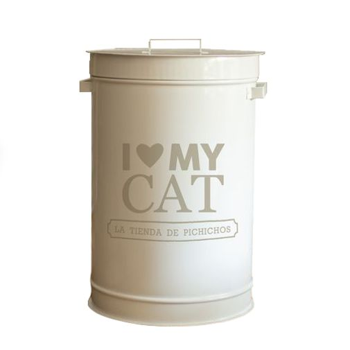 Dispenser-I-Love-My-Cat-Color-Beige-