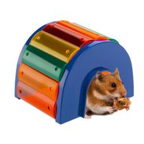 Casita-Kuci-Multicolor-Para-Hamster