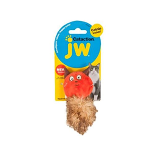 Peluche-JW-Plush-Catnip-Ardilla