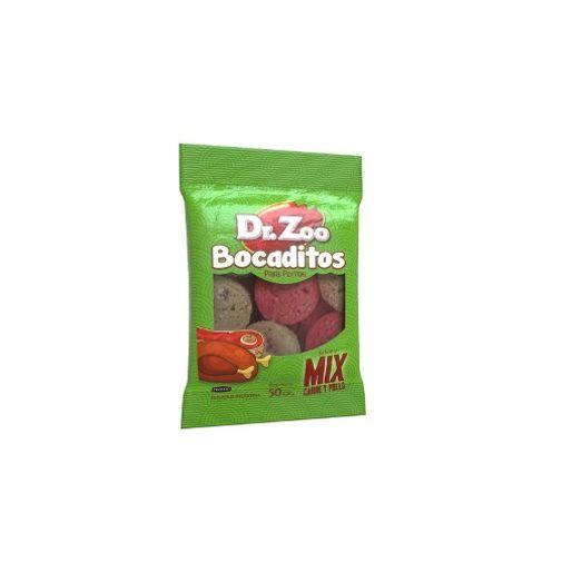 Bocaditos-Dr.Zoo®-Mix-Carne-y-Pollo-Snack-Perro-50-Gr---