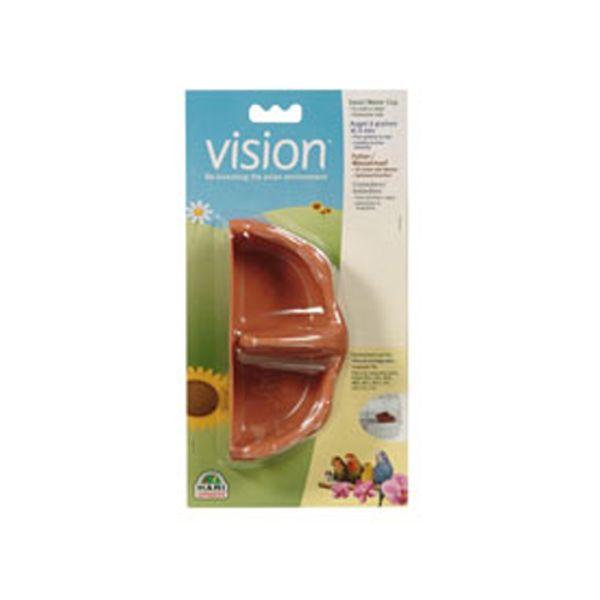 Comedero-Y-Bebedero-Vision-Con-Separacion-Para-Aves-Marron