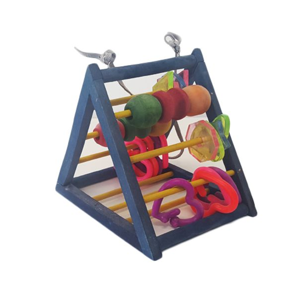 Juguete-Colgante-Para-Aves-Tipo-Abaco-Piramidal