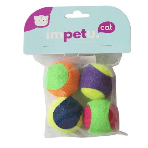 Juguete-Para-Gatos-Pelotitas-Tenis-De-Colores