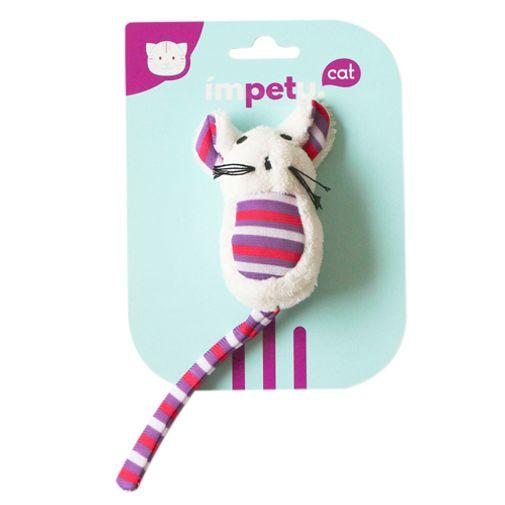 Juguete-Para-Gato-Peluche-Gatito-Violeta