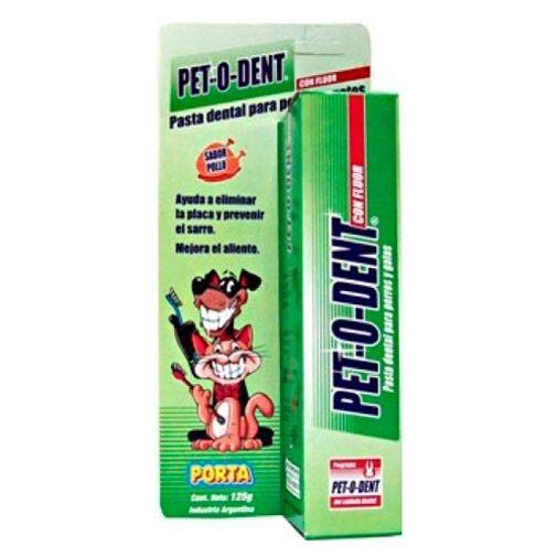 Pasta-Dental-Pet-O-Dent-De-Pollo-Para-Perros-Y-Gato-