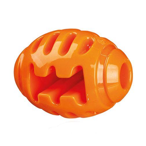 Pelota-De-Rugby-Soft---Strong-Naranja-Para-Perros-
