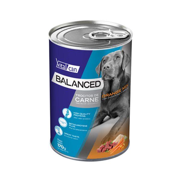 Alimento-Perro-Humedo-Lata-Vitalcan-Balanced-Orange-Mix