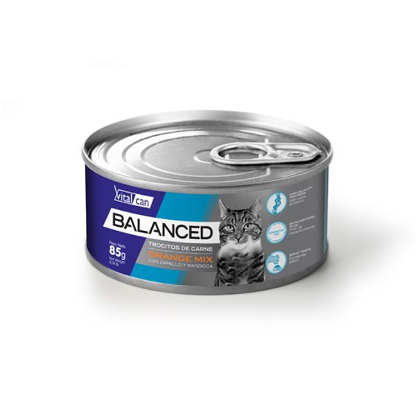 Alimento-Gato-Humedo-Lata-Vitalcan-Balanced-Orange-Mix-