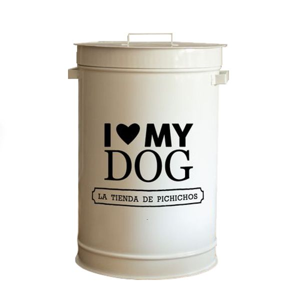 Dispenser-I-Love-My-Dog-Color-Negro