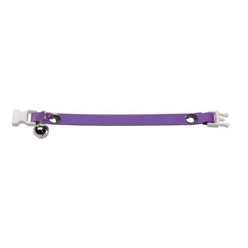 Collar-Ergoflex-Cat-Purpura-Con-Cascabel