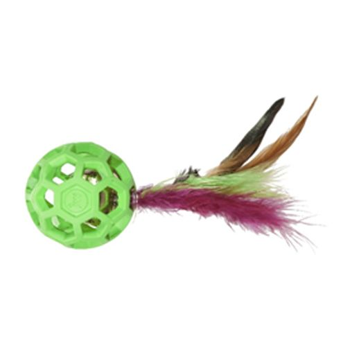 Pelota-JW-Cataction-Con-Plumas-Y-Cascabel