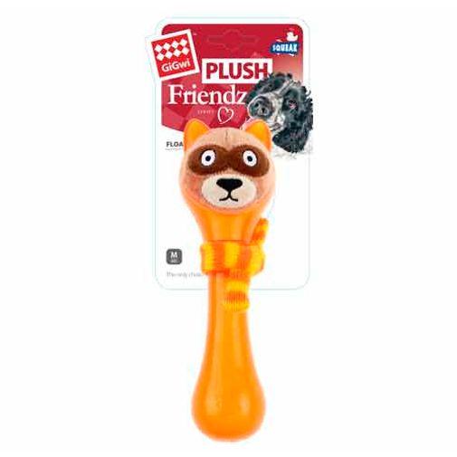 Mapache-Gigwi-Plush-Friendz-Naranja