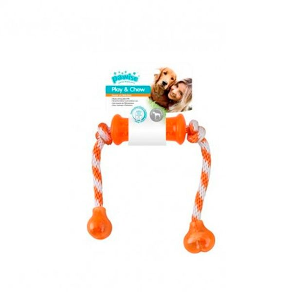 Hueso-Con-Soga-Pawise-Play-And-Chew-Dumbbell-Unico
