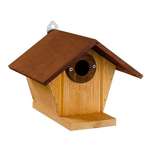 Casa-Para-Aves-Nest-De-Madera