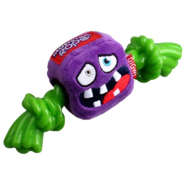 Juguete-Gigwy-Monstruo-Purpura-Con-Soga