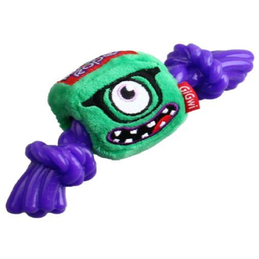 Juguete-Gigwy-Monstruo-Verde-Con-Soga