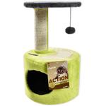 Rascador-Gato-CanCat-verde-3-Niveles
