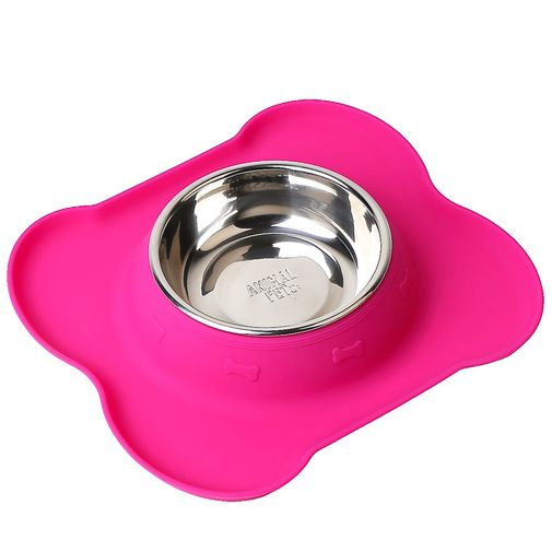 comedero-bebedero-animal-pet-silicona-rosa-y-acero-Small
