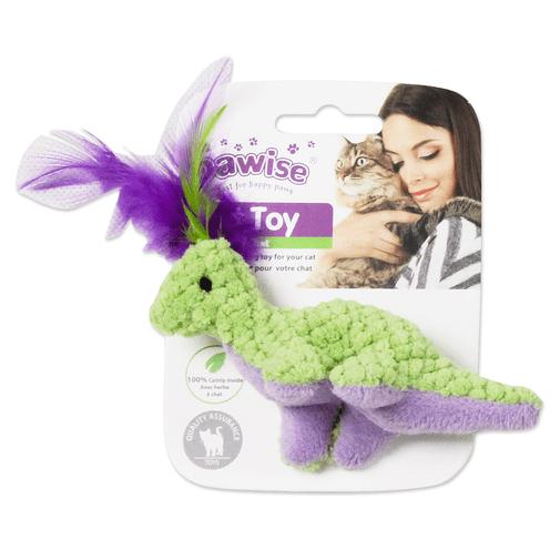 Peluche-Pawise-Cat-Toy-Dinosaurio