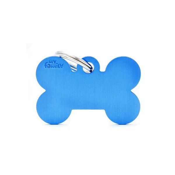 Chapita-My-Family-Hueso-De-Aluminio-Azul