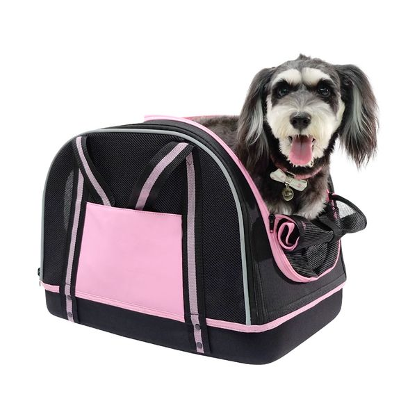 Bolso-Cocooning-Double-Fun-Pet-Love-Rosa