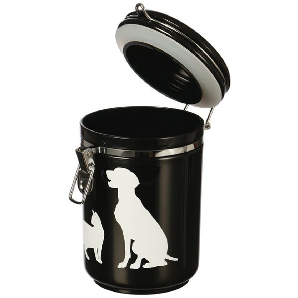 Almacenador-Cocooning-Canister-Cat-And-Dog-Negro