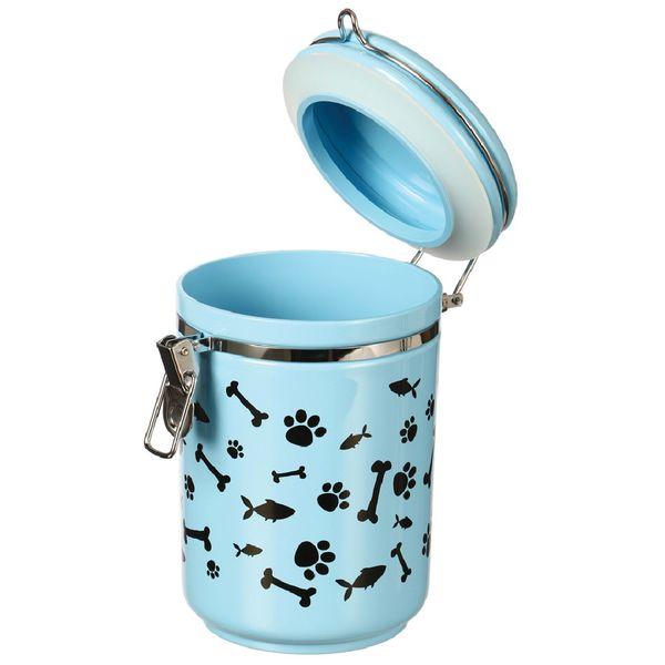 Almacenador-Cocooning-Canister-Paw-Bone-Fish-Blue