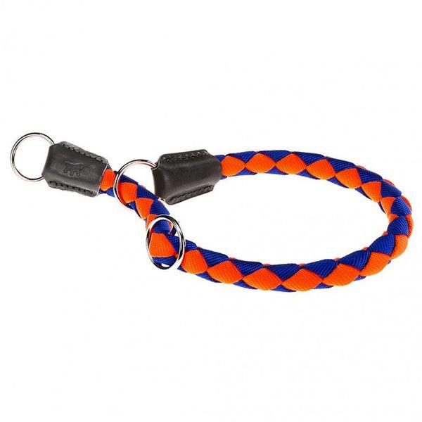 Collar-Ferplast-Twist-CS-Naranja-Y-Azul-60cm-x-18mm