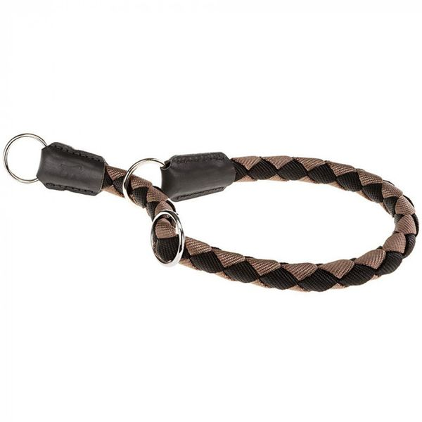 Collar-Ferplast-Twist-CS-Negro-Y-Marron-60cm-x-18mm