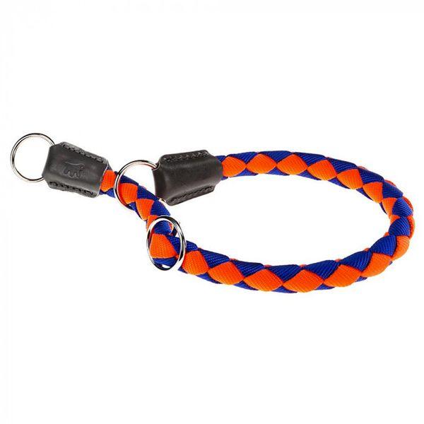 Collar-Ferplast-Twist-CS-Naranja-Y-Azul-70cm-x-18mm