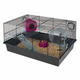 Hamstera-Ferplast-Milos-negra-50x35x25h-cm