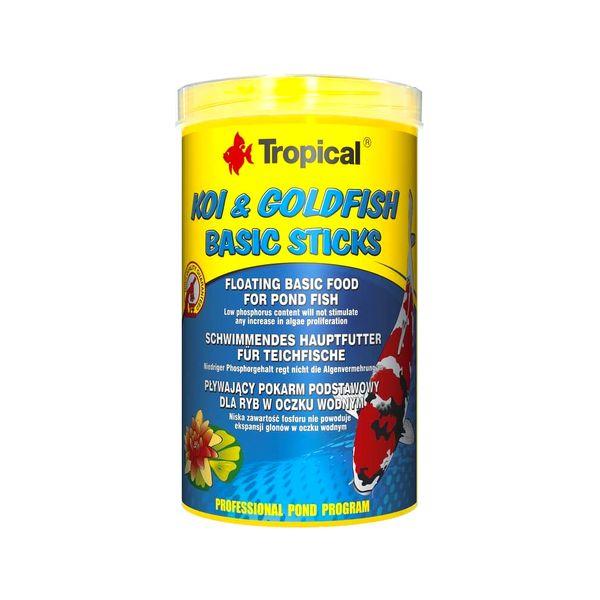 Alimento-Tropical-Koi---Goldfish-Basic-Sticks-86-Gr