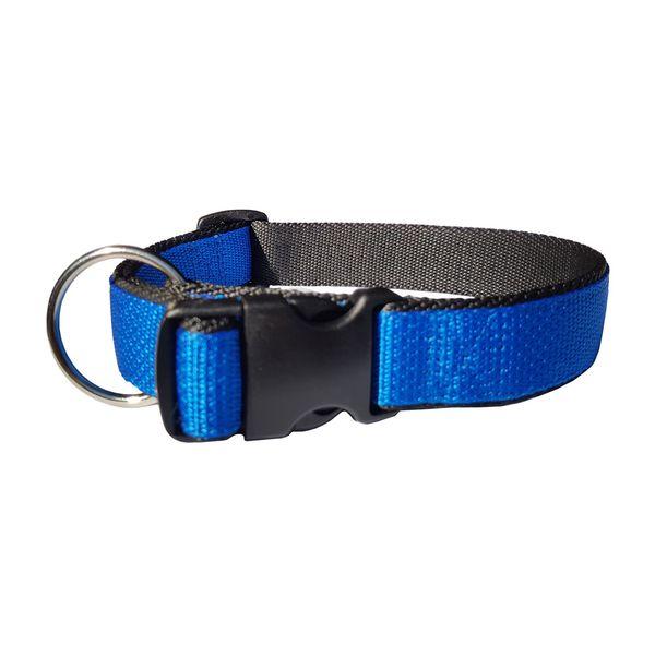 Collar-Pets-Pro-Ajustable-Bicolor-con-Argolla