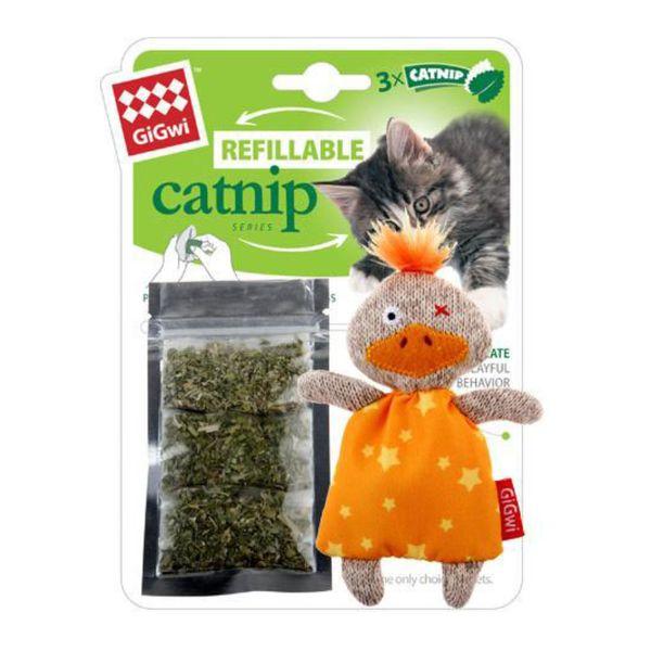 Juguete-Gigwi-Pato-Rellenable-con-Catnip