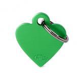 Chapita-My-Family-Basic-Heart-de-Aluminio-Verde