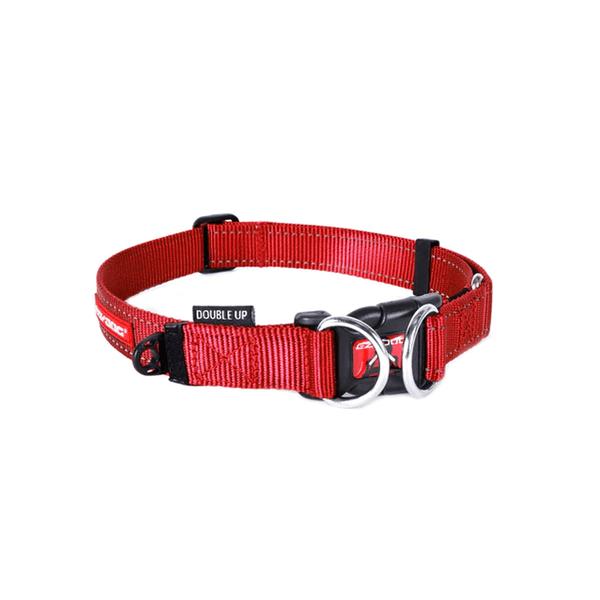 Collar-Ezydog-Double-Up-Rojo-Extragrande