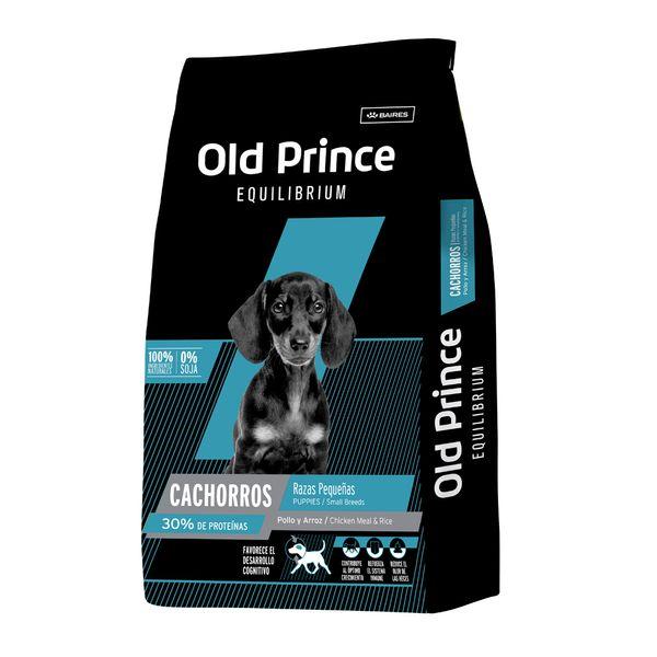 Alimento-Old-Prince-Equilibrium-Cachorro-Raza-Pequeña-3kg