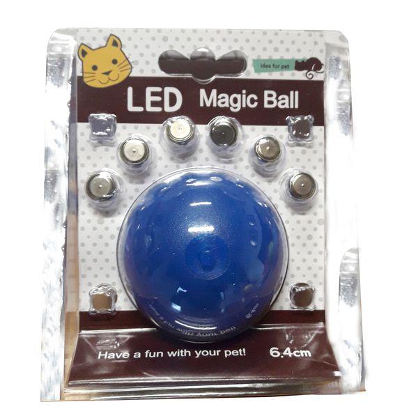 Juguete-Animal-Pet-Bola-Luminosa-Rodante